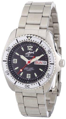 Chris Benz Unisex-Armbanduhr Analog Edelstahl CBM.S.MB.SI