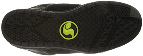 DVS Elan Polo Comanche, Herren Skateboardschuhe Black Lime Leather Nubuck