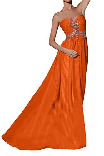 Missdressy - Robe - Trapèze - Femme Orange - Orange