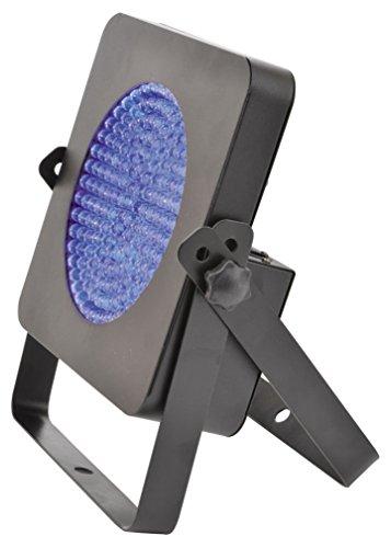 QTX SL-UV PAR64 Schwarzlicht-Strahler LED-Strahler mit 167 x 10mm UV-LEDs (DMX-2-Kanal: Dimmer, Strobe; musikgesteuert, automatik) UV-Licht ultraviolett Uv-kanal Licht
