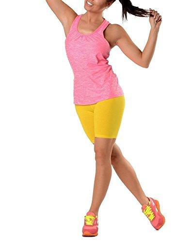 AE - Legging - Femme Jaune - Jaune
