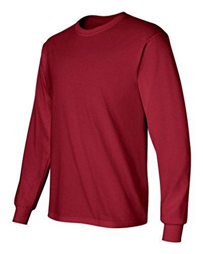 Pirate Booty auf American Apparel Fine Jersey Shirt Rouge - Cardinal Red