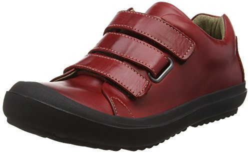 FLY London Maze248fly, Baskets Basses Femme Rouge - Red (Red/Red)