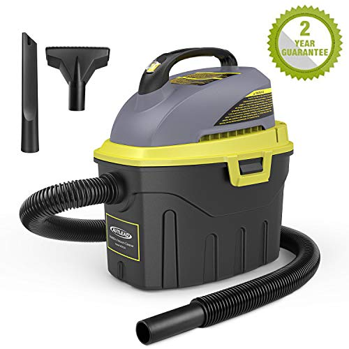 AUTLEAD nass trockensauger, 1000W 12L Tragbarer wassersauger mit 2 Düsen, Schalldämpfer, kompakt, handlich und energiesparend, für Haus, Auto