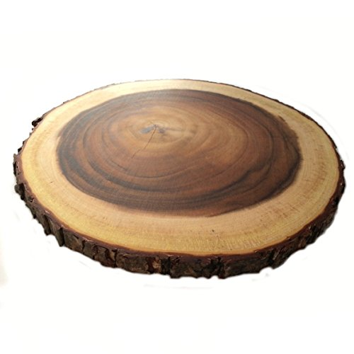 Rustikal, rund, Board by Super Cool Creations (Über-bord-Öl)