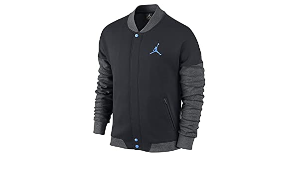 Nike Herren Air Jordan Varsity Jacke Medium BlackBlack