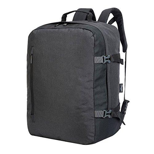 Shugon 7720–14Triest Weiches Kabine Koffer, anthrazit melange/schwarz