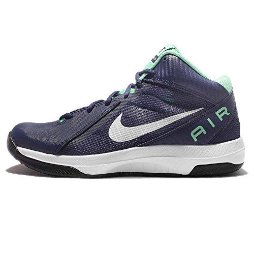 Nike the Air Overplay Ix, Scarpe da Basket Uomo Loyal Blue/pure Platinum/green Glow