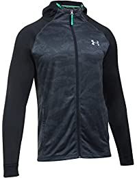 Under Armour Tech Terry - Sweat à Capuche Ajusté Zippé - Noir