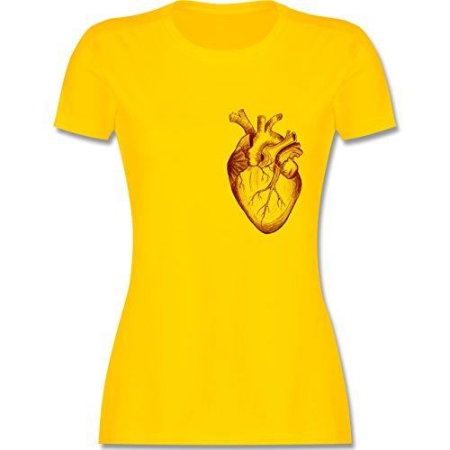 Nerds Geeks Herz Anatomie tailliertes Premium TShirt mit ...