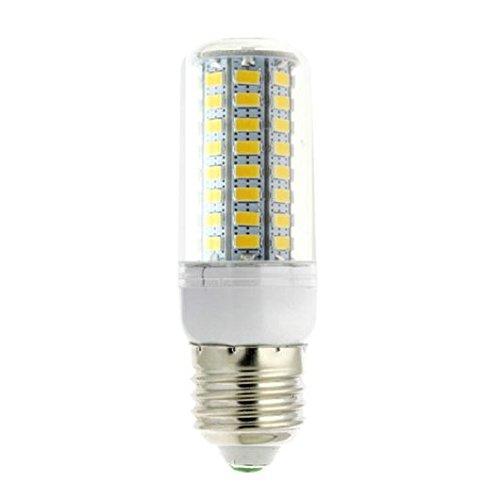 TOOGOO(R) 1Pcs 15W 5730 LED Gluehbirne Birne Mais Licht Leuchtmittel Strahler Lampe E27 warmweiss