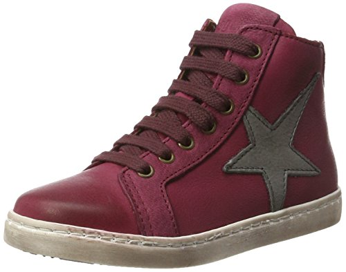 Bisgaard Unisex-Kinder Schnürschuhe Hohe Sneaker, Pink (Pink), 34 EU