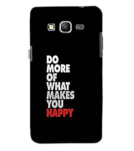 SAMSUNG GALAXY GRAND PRIME DO MORE Back Cover by PRINTSWAG