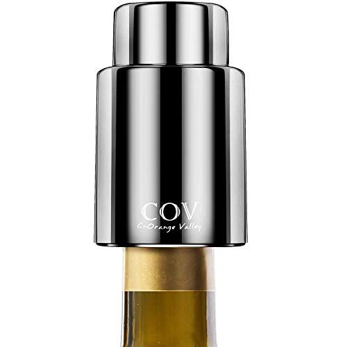 ELETEK Vakuum Wein stopfen (Schwarz)