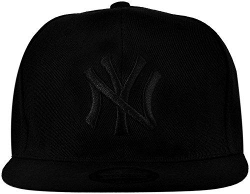 NY Black Premium Cotton Hat Cap / Baseball Cap / Snapback Cap /Hiphop Cap  available at amazon for Rs.218