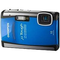 """Olympus  TOUGH-6000 Appareil photo compact numérique 10 Mpix Zoom Optique 3,6x Ecran LCD 2,7"""" Etanche et anti-choc Bleu"""