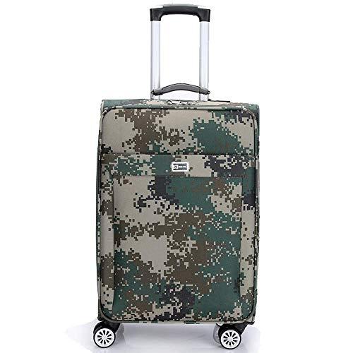 BEIKE Camouflage Koffer Trolley Business Trolley Universalrad 26 Zoll 32 Zoll Koffer Herren Und Damen Koffer,32inch