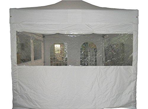 interouge–1-Plane Zelt Klapptisch Demi Panoramafenster–4.5x 2m Polyester Folienstiften PVC 300g/m²–-Plane Camping Terrasse Pergola Pavillon wasserdicht und Windblocker–mehrere Farben