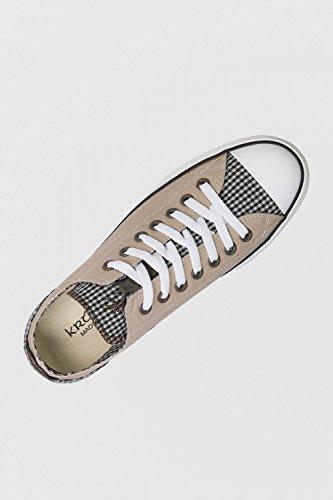 Krüger - Herren Trachtenschuhe -Sneaker- im Low-Cut in Braun, Jungjäger (Artikelnummer: 9016-7), Größe:40, Farbe:Braun - 2