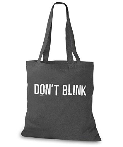 StyloBags Jutebeutel / Tasche Dont Blink Darkgrey