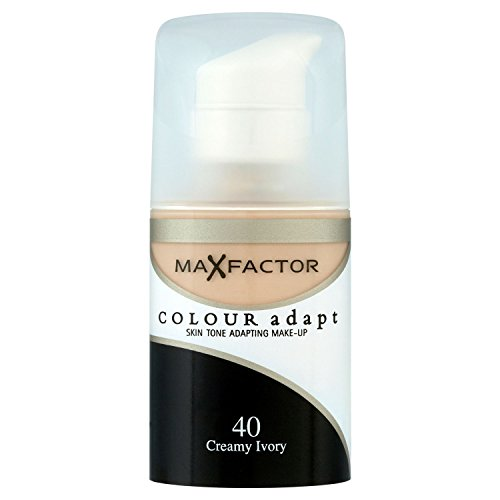 3 x Max Factor, Colour Adapt Foundation, 34ml, 40 Creamy Ivory, New & Sealed