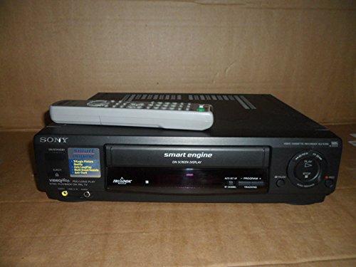 sony-slv-e295-vhs-vcr-video-recorder-player-ntsc-trilogig-long-play-black