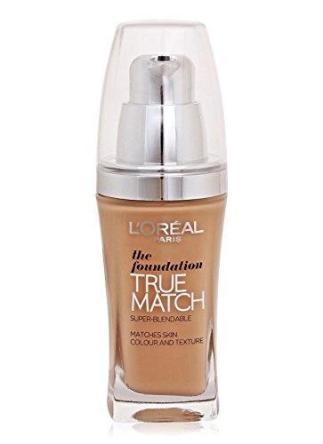 Match Liquid Foundation (Loreal True Match Liquid Foundation Golden Amber D7-W7)