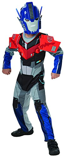 Kostüm Roboter Waffen - Rubie's 3610613 L - Robots in Disguise Optimus Prime Deluxe Child L