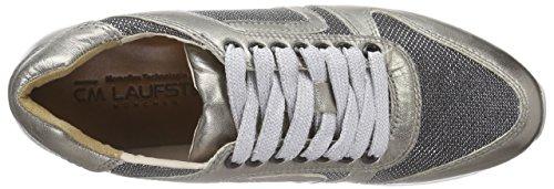 Laufsteg München Fs162001g, Baskets Basses femme Marron - Braun (bronze glitter)