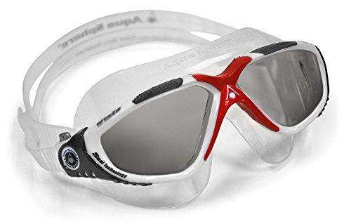 Aqua Sphere Vista Goggle - getntes - rot ideal fr Schwimmen
