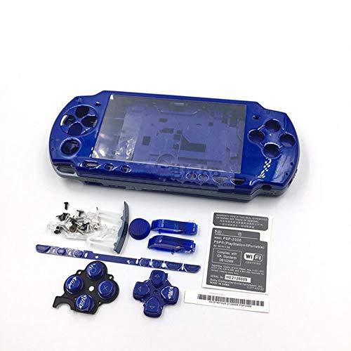 Boîtier de Remplacement pour Console de Jeu Sony PSP 2000 Bleu