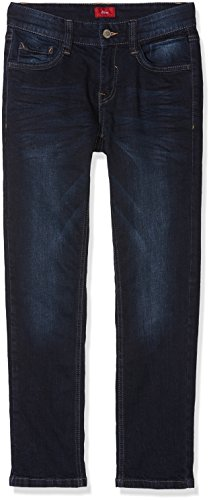 s.Oliver Junior Jungen Jeans 75.899.71.0615, Blau (Blue Denim Stretch 58Z2), 134