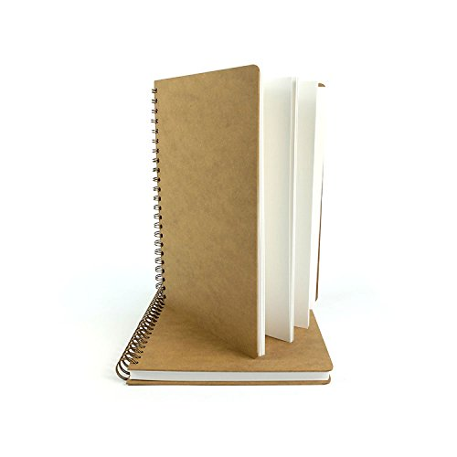 A3 Portrait Hochformat Skizzenbuch, Zeichentafelabdeckungen - 50 Blatt - 160 gsm Ring Bound Art Craft Sketch Zeichnung, Buch - Geeignet für Bleistifte, Kugelschreiber und Leichte Verwaschungen