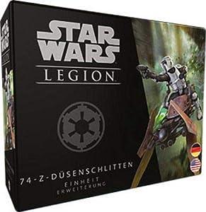 Asmodee FFGD4603 Star Wars: Legion-74-Z - Trineo para boquillas