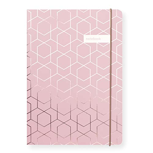 Matilda Myres Notebook Rose Gold Foil - Pink