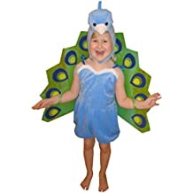 F56104–110pavo real Disfraz infantil niños disfraces para Carnaval