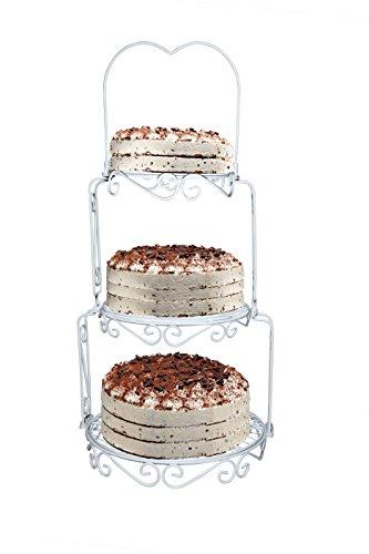 gâteau de mariage 3 étages, Présentoir à gâteau, présentoir à gâteau, plateau à gâteau