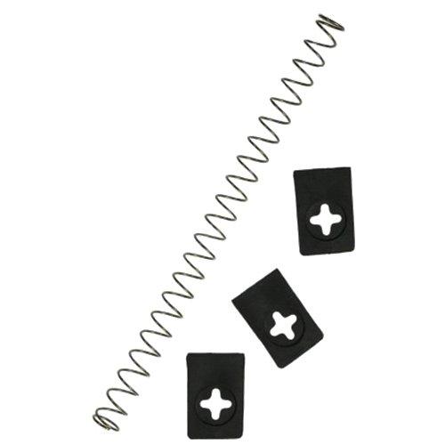 Westmark 40382250 Set Plaque d'éjection et 1 Ressort pour Kernfix 4035 3 pièces, Plastique, Argent, 10 cm