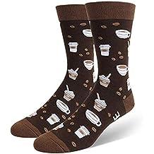BHYDRY Hombres Mujeres Novedad Divertido diciendo Calcetines de tripulación Si puedes leer estos calcetines