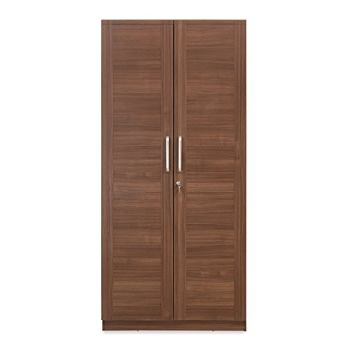 @home by Nilkamal 2-Door Wardrobe (Matte Paper Finish, Brown)  available at amazon for Rs.21900