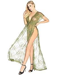 3665523e18dbc6 LADY MOON Erotik Unterwäsche Damen Reizwäsche Sexy Dessous Erotik  Nachtwäsche Negligee Lang Sexy Unterwäsche Damen R