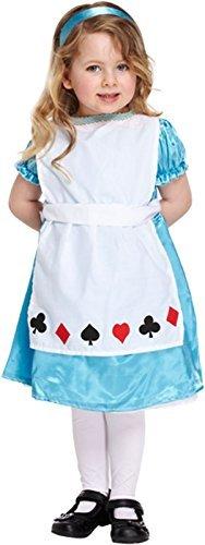 KINDER KOSTÜM ALICE 3 JAHRE (Für Kinder Alice-kostüme)