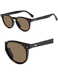 Fendi Herren Sonnenbrille FF M0002/S JO KB7, Grau (Grey/Grey Grey), 55