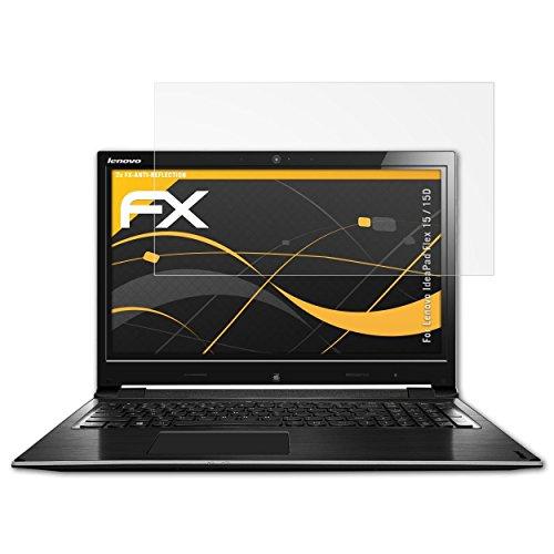 entspiegelnde und Flexible FX Displayschutzfolie 2X atFolix Schutzfolie kompatibel mit Lenovo IdeaPad Yoga 2 13 Folie