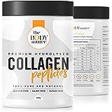 Protéine de Collagène en Poudre | 400g Peptide de Collagene Hydrolysé | Complement Alimentaire pour les Muscles, la Peau, les Os, les Cheveux, les Ongles - The Body SourceTM