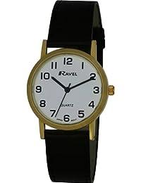 Ravel R0102.01.1 - Reloj de pulsera hombre, plástico, color marrón
