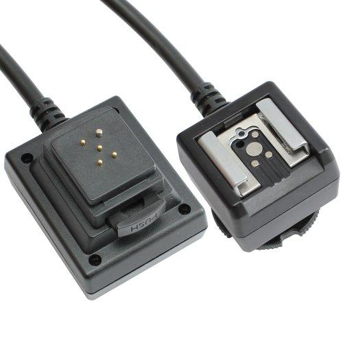 TTL Kabel MeiKe kompatibel mit Pentax P-TTL Systemblitze Länge 3m