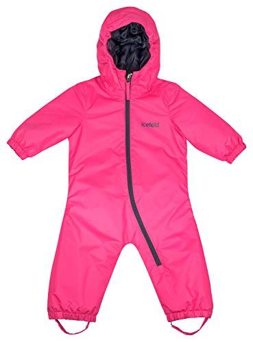 icefeld Schneeoverall/Skianzug für Babys und Kleinkinder (Jungen und Mädchen), pink in Größe 98/104
