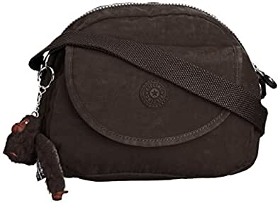 Kipling Womens Stelma Shoulder Bag Chester Brown