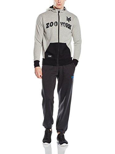 Zoo York Apollo Zip Hood Athletic Grey/Anthracite Athletic Grey/Anthracite
